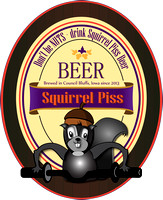 Squirrel Piss Beer Purple