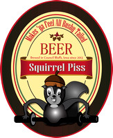 Squirrel Piss Beer Red